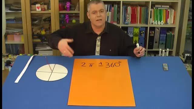 Winkelmaß und Bogenmaß – Umrechnung