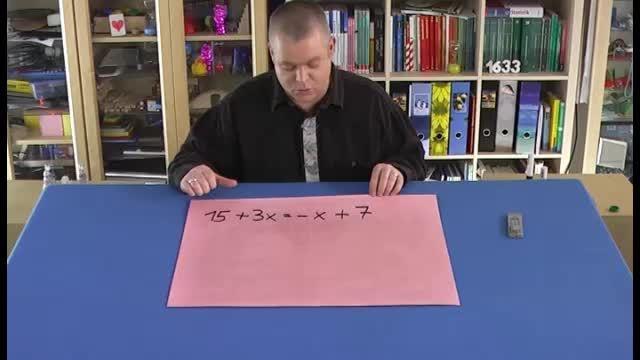 Lineare Gleichungen lösen (2)