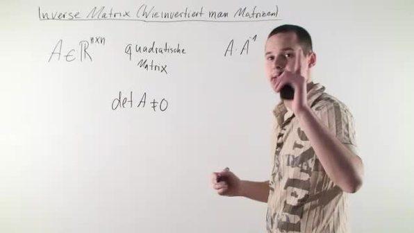 Inverse Matrizen –  Einführung