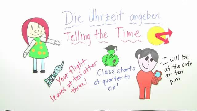 Uhrzeit – Telling the Time