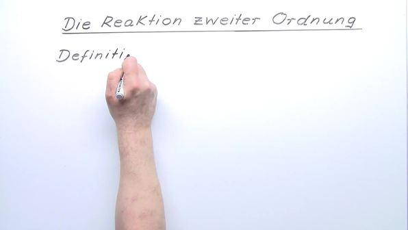 Reaktion 2. Ordnung