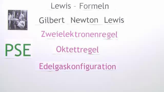 Elektronen-Struktur des Sauerstoffs – Lewis Formel – Chemie online ...