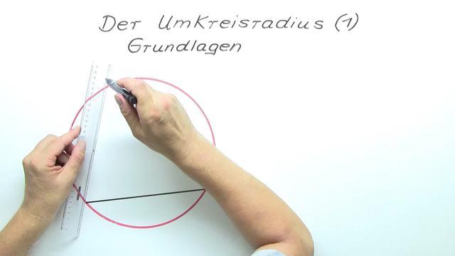 Umkreisradius von Dreiecken – Grundlagen