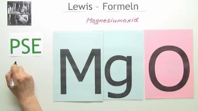 magnesiumoxid aufstellen der lewis formel chemie online lernen. Black Bedroom Furniture Sets. Home Design Ideas