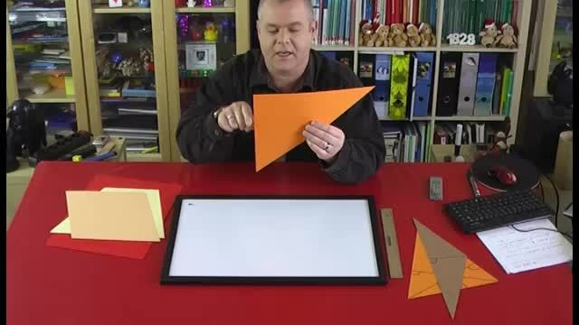 Höhen von rechtwinkligen Dreiecken, Parallelogramme und Trapeze