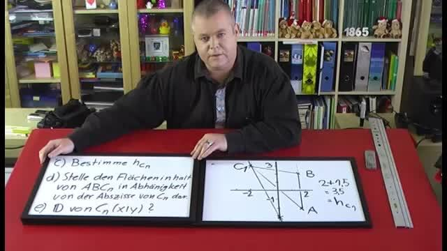 Dreiecksscharen im Koordinatensystem (5)