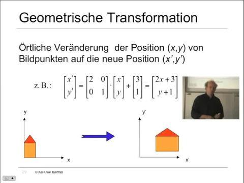 Teil 15: Geometrische Transformation – Einführung ...