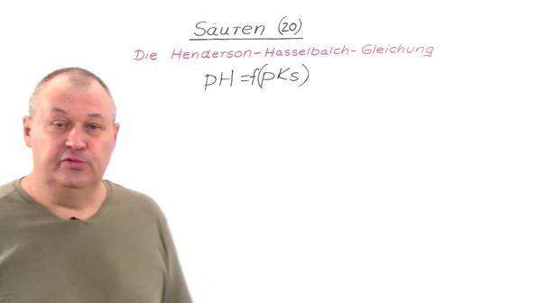 Die Henderson-Hasselbalch-Gleichung