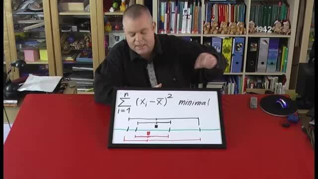 Mittelwert – Beweis der Minimalitätseigenschaft