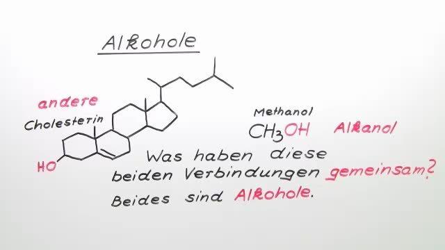 Alkohole – Einführung
