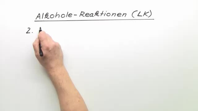 Alkohole – Reaktionen (Expertenwissen)