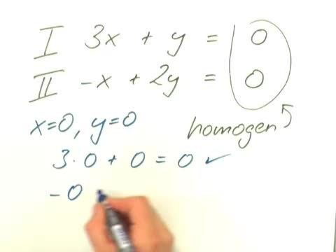 Lineare Gleichungssysteme mit zwei Variablen – Zusammenfassung