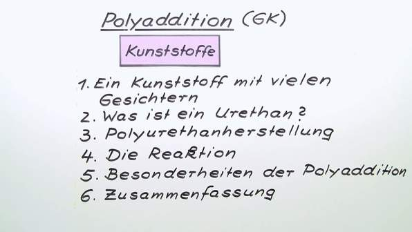 Polyaddition