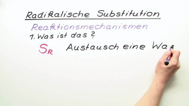 Radikalische Substitution