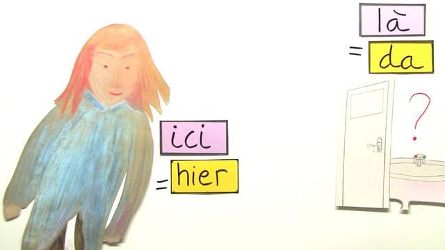 """Besondere Adverbien – """"ici"""" und """"là"""""""