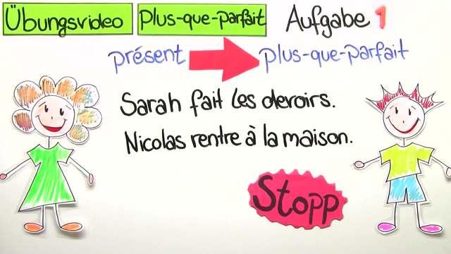 Plus-Que-Parfait – Bildung und Gebrauch (Übungsvideo)