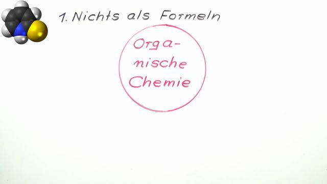 Wie finde ich mich in der organischen Chemie zurecht?