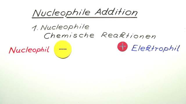 Nucleophile Addition
