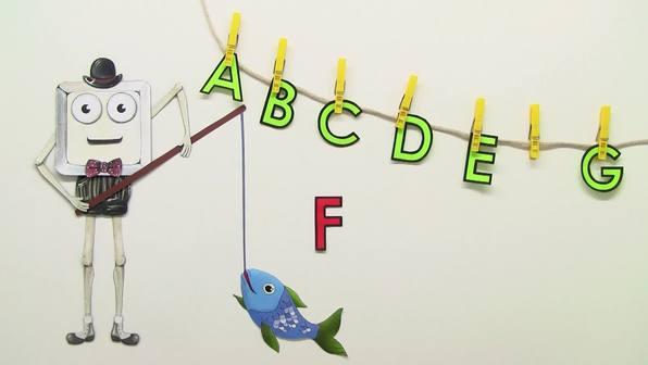Einführung des Buchstabens F