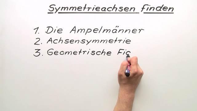 Symmetrieachsen finden