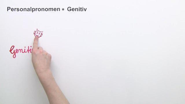 Personalpronomen – Genitiv (1)